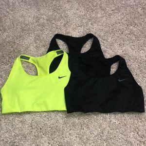 Nike pro sports bras (lot of 3)